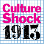WNYC logo for Culture Shock 1913, the one-hour special program produced by Sara Fishko