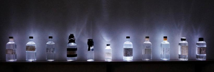 Anais, Tondeur, Lost in Fathoms, water, bottles