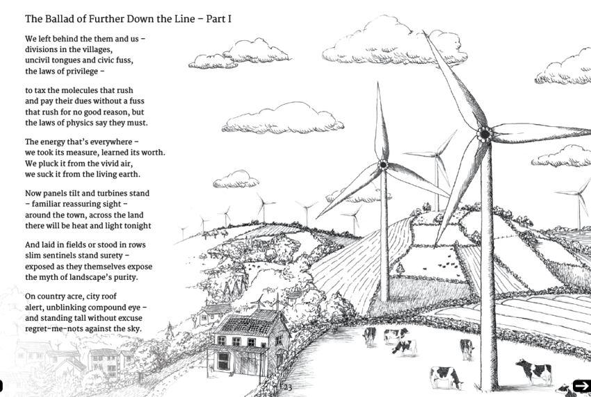 Matt Harvey, Harvey, poet, poem, renewable energy, renewable