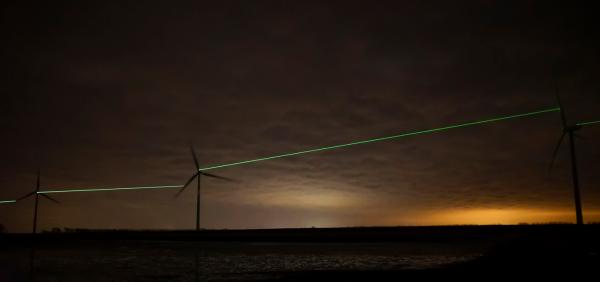 wind, renewable, energy, laser, Netherlands, Roosegaarde, Windlicht