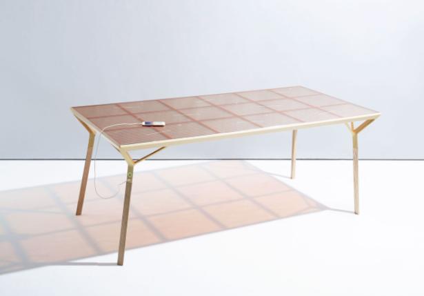 solar, renewable, energy, table, Caventou, Dutch, Marjan, van Aubel